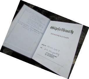 Gipfelbuch Drachenzahn